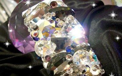 画像1: ガラススタイル Vカットストーン ライコロ4mm